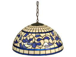 Meyda Tiffany Turning Leaf Three-Light Pendant Light