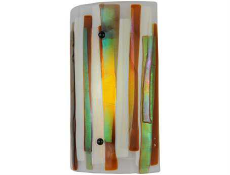 Meyda Tiffany Metro Fusion Marina Dimmable LED Wall Sconce