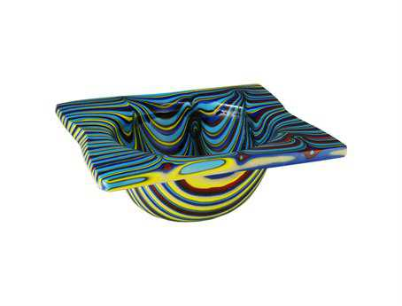 Meyda Tiffany Metro Fusion Tropical Glass Bowl