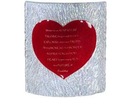 Meyda Tiffany Metro Fusion Heart Personalized Panel