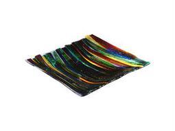 Meyda Tiffany Metro Fusion Penna Di Pavone Glass Plate