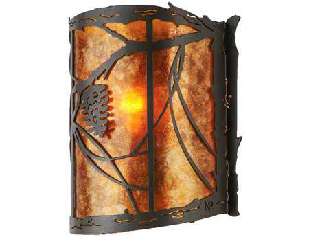 Meyda Tiffany Whispering Pines Wall Sconce