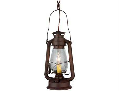 Meyda Tiffany Miners Lantern Mini-Pendant Light