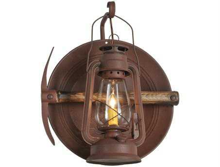 Meyda Tiffany Miners Lantern Outdoor Wall Light