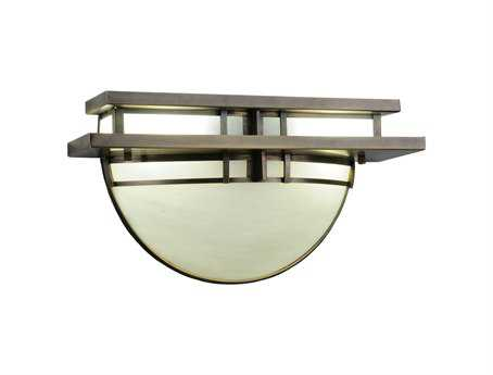 Meyda Tiffany Deco Two-Light Wall Sconce