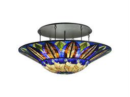 Meyda Tiffany Tampa Bay 12-Light Semi-Flush Mount Light