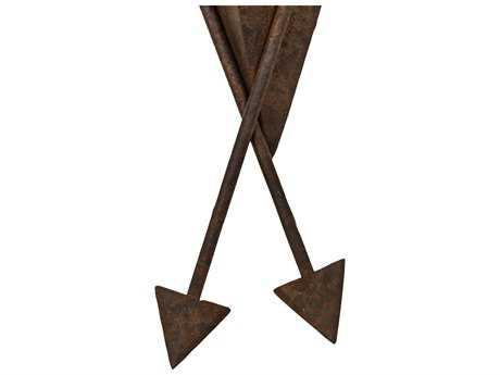 Meyda Tiffany Desert Arrow Rusty Nail 12'' Wide Wall Sconce