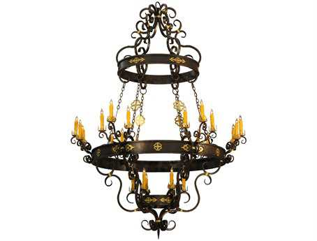 Meyda Tiffany Santino 24-Light 72 Wide Grand Chandelier