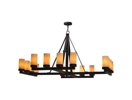 Meyda Tiffany Parker 12-Light 58'' Wide Chandelier