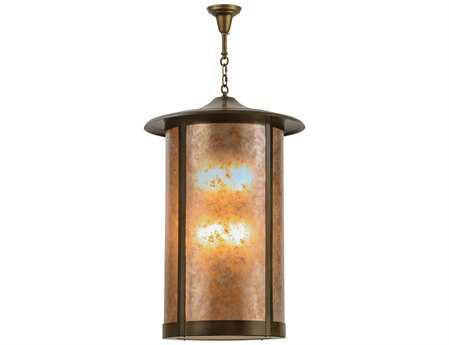 Meyda Tiffany Fulton Prime  Eight-Light Outdoor Hanging Light