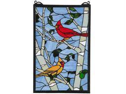 Meyda Tiffany Cardinal Morning Window