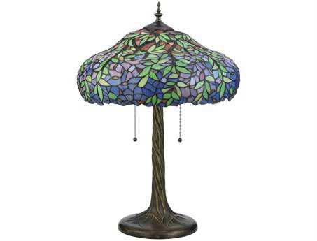 Meyda Tiffany Duffner & Kimberly Laburnum Multi-Color Table Lamp
