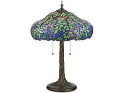 Meyda Tiffany Duffner & Kimberly Laburnum Multi-Color Table Lamp