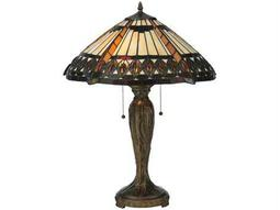 Meyda Tiffany Cleopatra Multi-Color Table Lamp