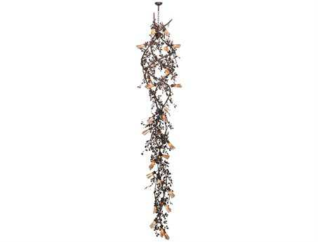 Meyda Tiffany Vinca Vine 30-Light 38 Wide Grand Chandelier
