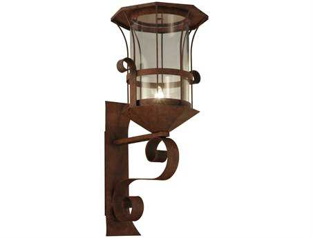 Meyda Tiffany Metro Pizza Outdoor Wall Light