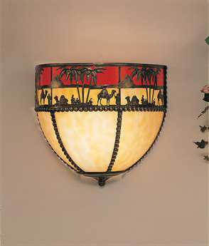 Meyda Tiffany Camel Wall Sconce