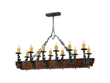 Meyda Tiffany Tudor LED 12-Light Grand Chandelier
