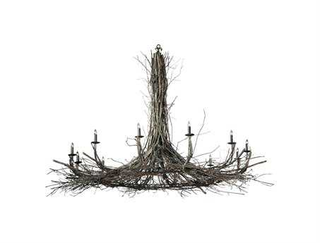 Meyda Tiffany Twigs 12-Light 132 Wide Grand Chandelier