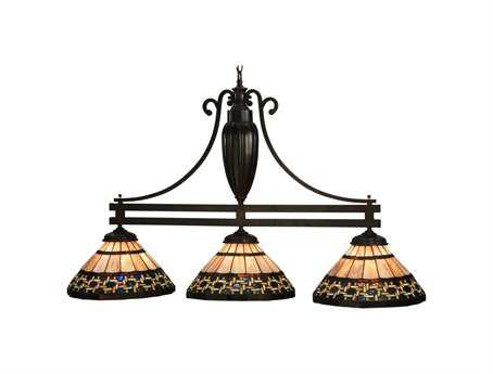 Meyda Tiffany Ilona Three-Light Island Light