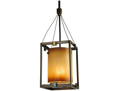 Meyda Tiffany Kitzi Cylinder Mini-Pendant Light