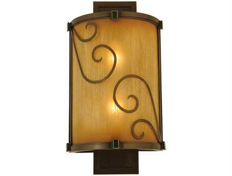 Meyda Tiffany Sorbonn Two-Light Outdoor Wall Light