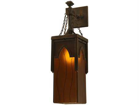 Meyda Tiffany Metro Fusion Cordoda Glass Outdoor Wall Light