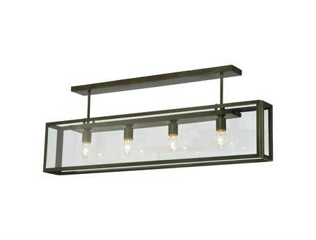 Meyda Tiffany Affinity Four-Light Semi-Flush Mount Light
