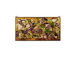 Meyda Tiffany Grape Arbor Stained Glass Window