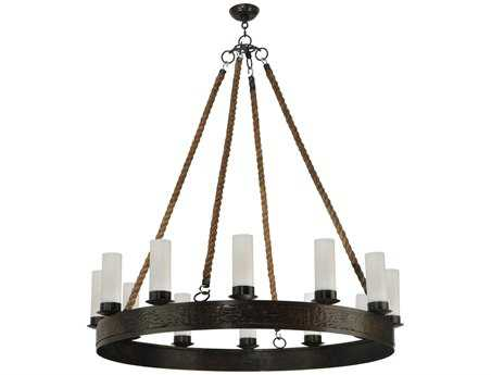 Meyda Tiffany Costello Ring 12 Candles 12-Light 50 Wide Grand Chandelier