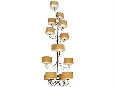 Meyda Tiffany Sequoia 14 Arm 14-Light 60 Wide Grand Chandelier