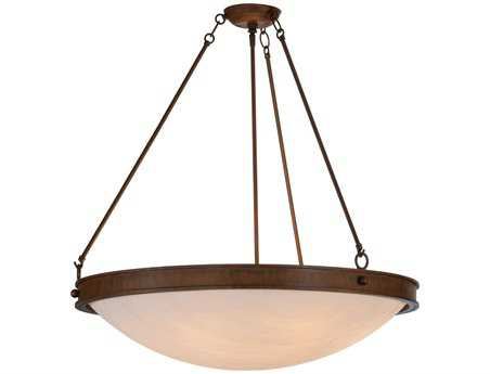 Meyda Tiffany Dionne Inverted Six-Light Pendant Light
