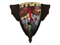 Meyda Tiffany Hanginghead Dragonfly Wall Sconce