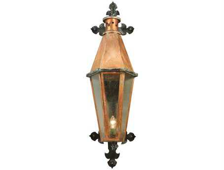 Meyda Tiffany Millesime Lantern Outdoor Wall Light