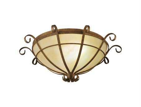 Meyda Tiffany Florentine Two-Light Flush Mount Light