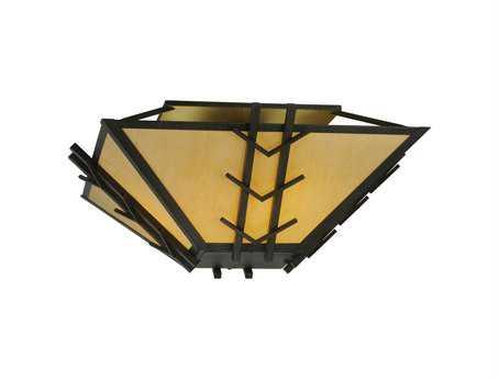 Meyda Tiffany Turk Eight-Light Semi-Flush Mount Light