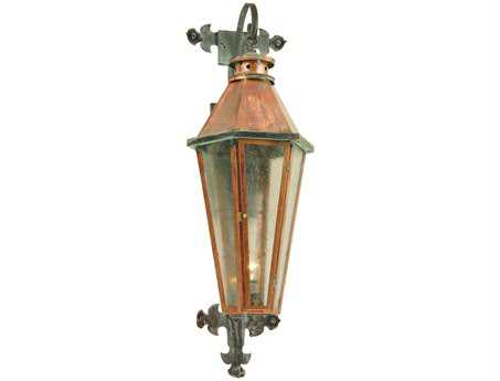 Meyda Tiffany Millesime Photocell Lantern Outdoor Wall Light