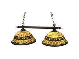 Meyda Tiffany Roman Two-Light Island Light