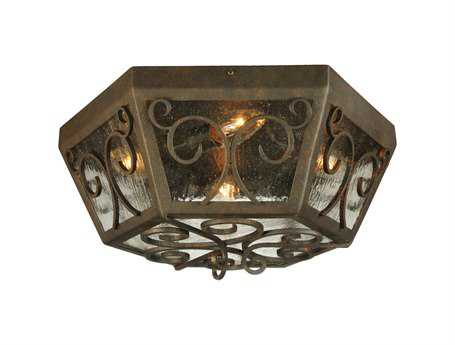 Meyda Tiffany Camilla Four-Light Outdoor Ceiling lIght