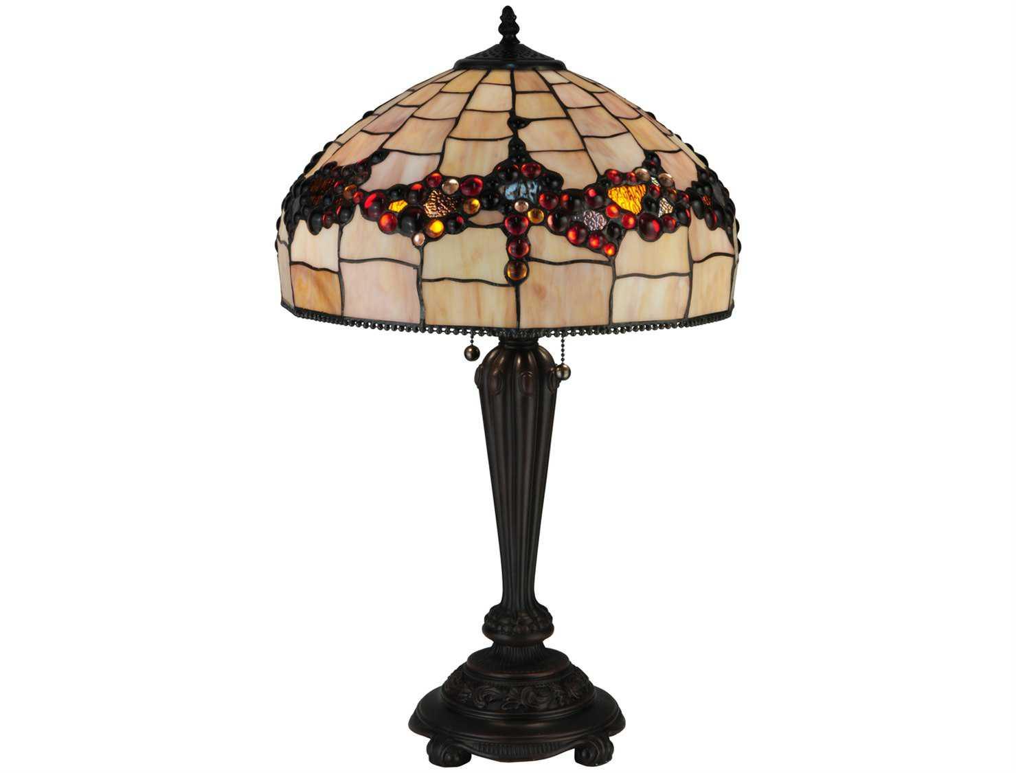Meyda Tiffany Concord Multi Color Table Lamp My130698