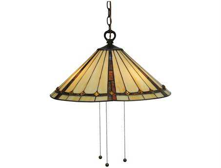 Meyda Tiffany Belvidere Three-Light Pendant