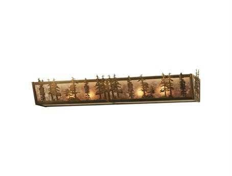 Meyda Tiffany Tall Pines Four-Light Vanity Light