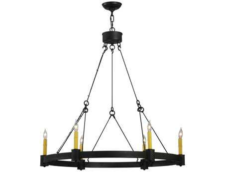 Meyda Tiffany Kenosha Six-Light 35 Wide Chandelier