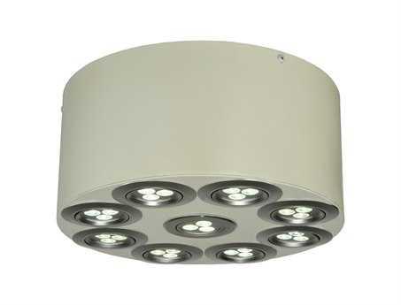 Meyda Tiffany Discovery LED Nine-Light Flush Mount Light