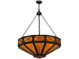 Meyda Tiffany Excellente Inverted Six-Light Pendant