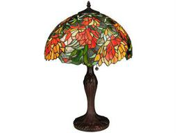 Meyda Tiffany Lamella Multi-Color Table Lamp