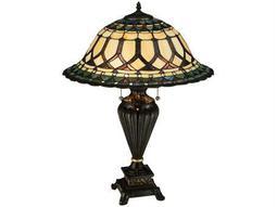 Meyda Tiffany Aello Multi-Color Table Lamp