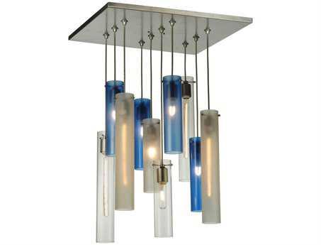 Meyda Tiffany Cilindro Ten-Light Shower Pendant