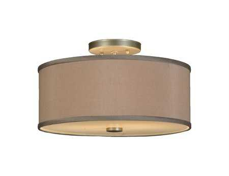 Meyda Tiffany Cilindro Two-Light Flush Mount Light