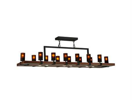 Meyda Tiffany Grand Terrace 14-Light LED Oblong Grand Chandelier